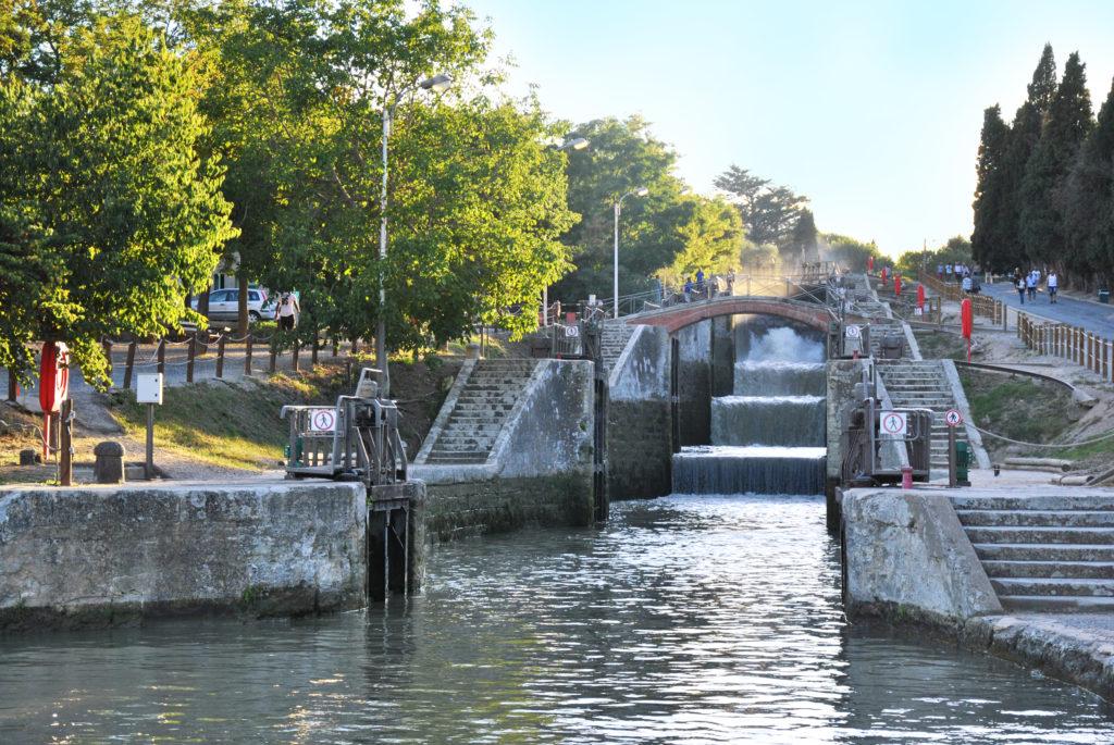Ecluses de Fonserane Canal du Midi