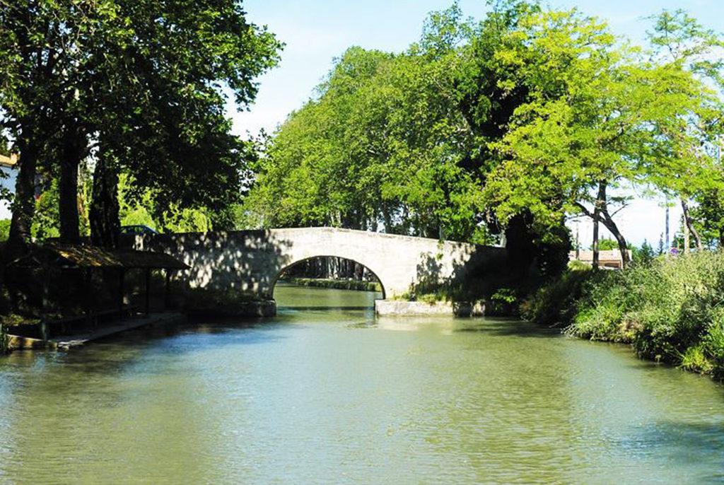 Pont de Colombiers Canal du Midi